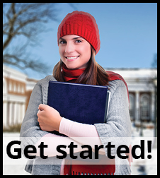 Get started with our student loans.