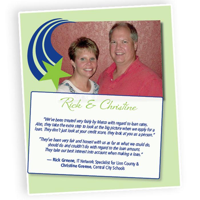 Rick & Christine
