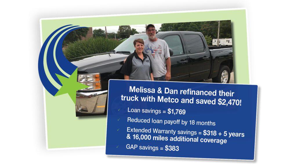 Melissa & Dan testimonial