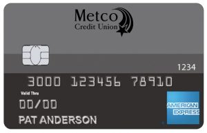 Metco Credit Union Amex Standard card image
