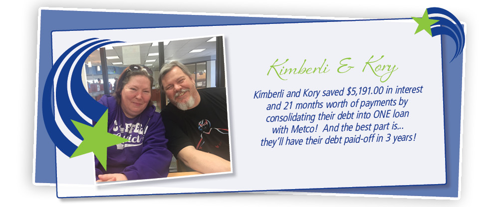 Kimberli and Kori saved by refinancing their loans with metco! You can too!