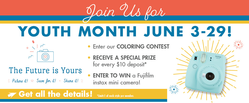 June is youth month at Metco! Stop in for some great offers, prizes & cookies on June 28th!