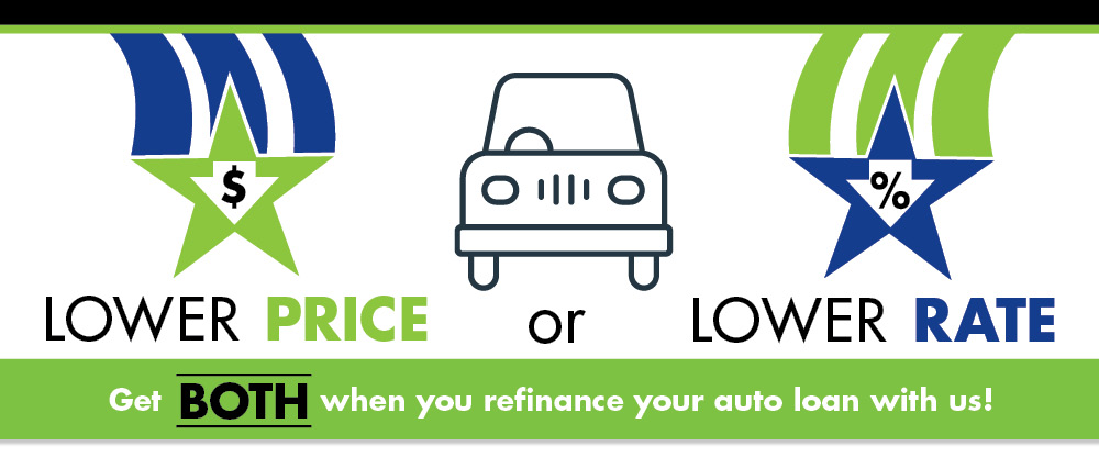 Refinance your auto loan with us! Keep the rebate and enjoy a lower rate.