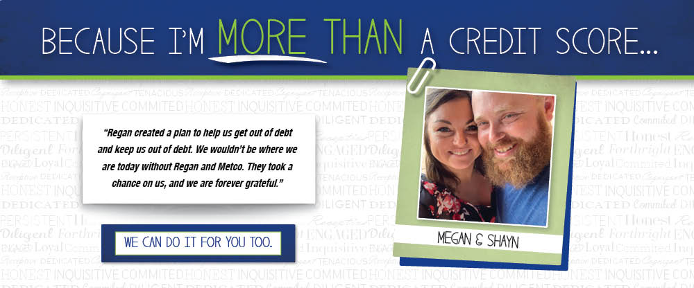 Member Testimonial - Because I'm More Than A Credit Score