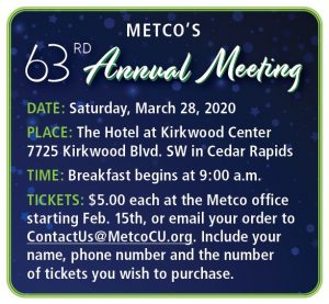 Annual Meeting Date & Time Details
