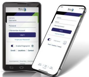 Mobile Banking App Image