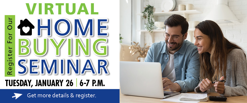 Register for our virtual home buying seminar