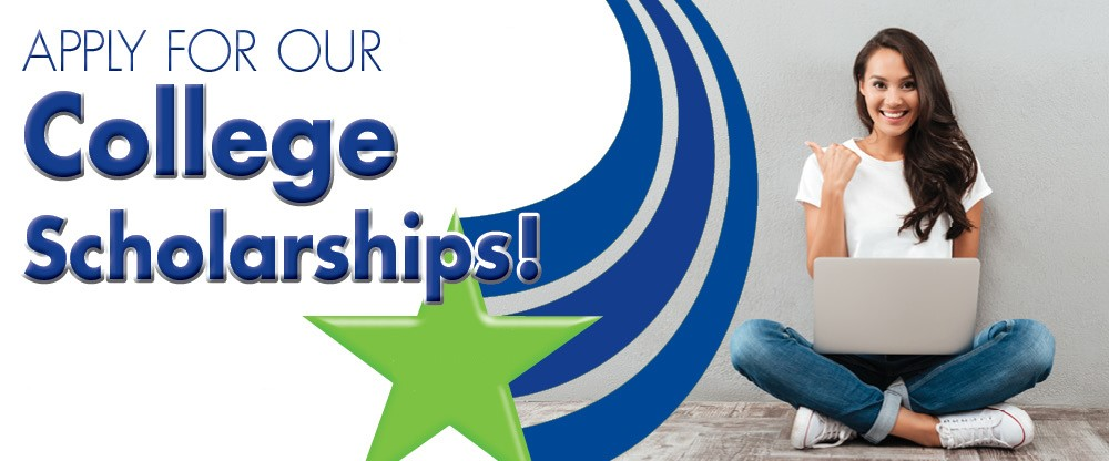 Apply for our college scholarships!